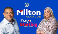 MILTÓN Fernández & freya Sterling