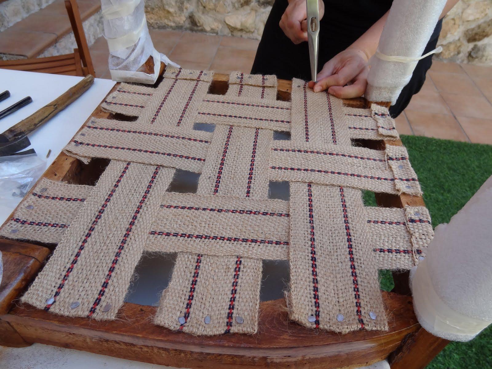 Tallerblog de restauraci n de muebles antiguos curso de for Materiales para tapiceria de muebles