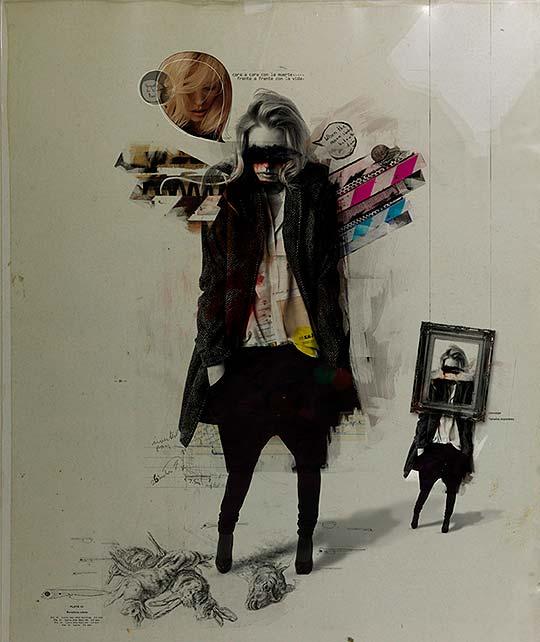 Ilustración de Alberto Morales aka Buentypo