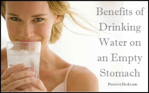 Using Water as a Medicine : Drinking Water On Empty Stomach