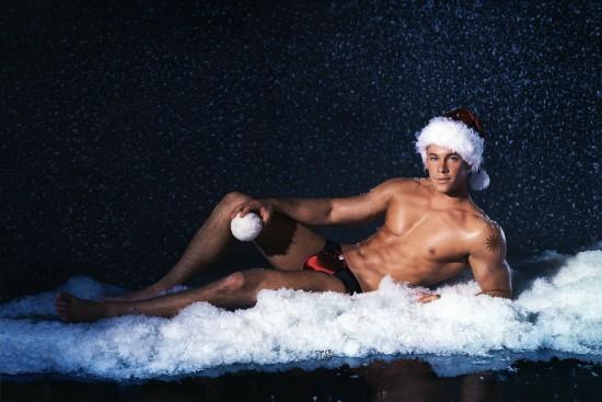 christmas men:
