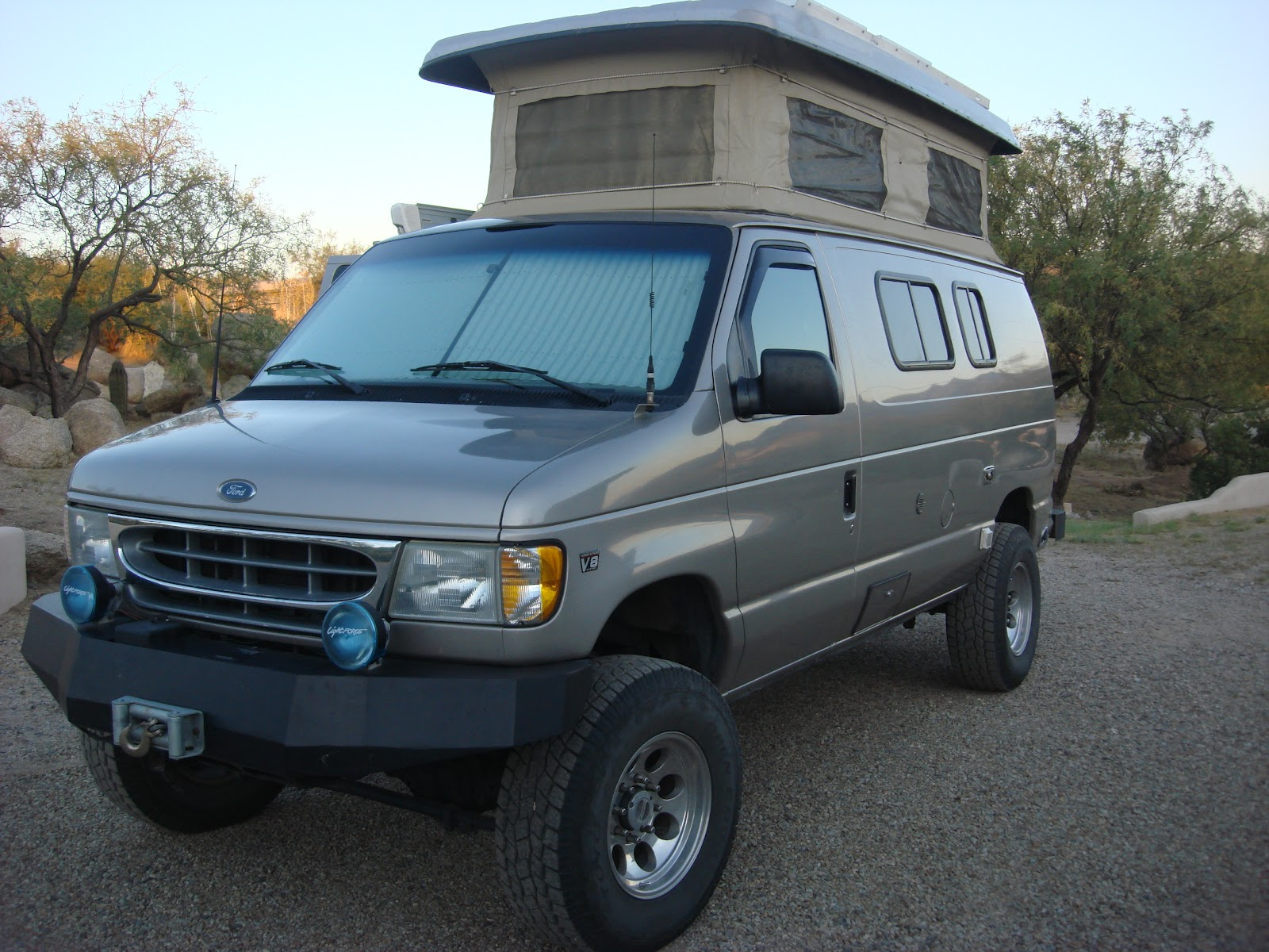 Sportsmobile 4x4 Van submited images.