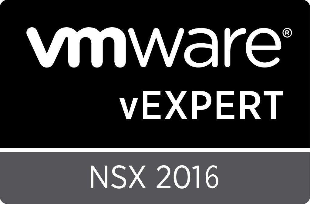 vExpert NSX