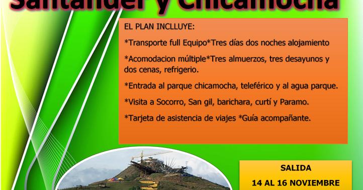 Paquete tur stico santander todo incluido turismo en el - Agencia de viajes diana garzon ...
