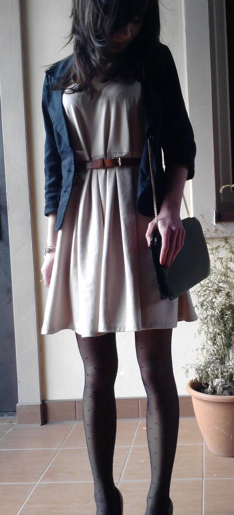 Nowa sukienka w roli głównej :)