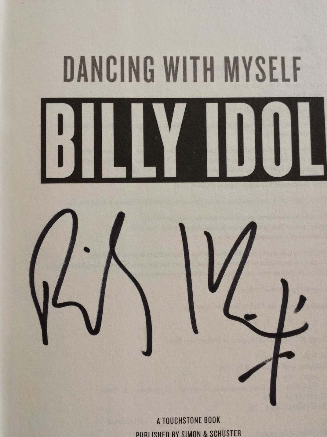 Autographs-Billy Idol
