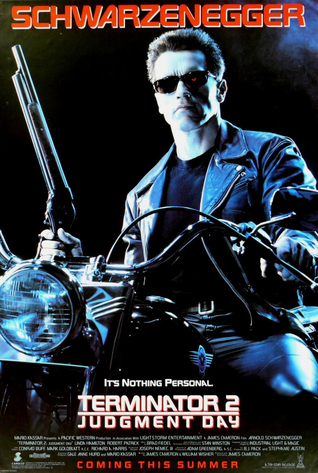 The Geeky Nerfherder: Movie Poster Art: Terminator 2 ...