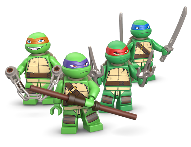 TMNT LEGOs Now Appearing in Stores