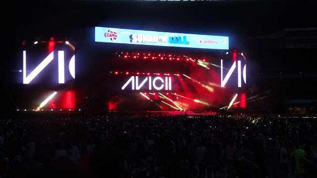 Avicii at Capital Summertime Ball 2015