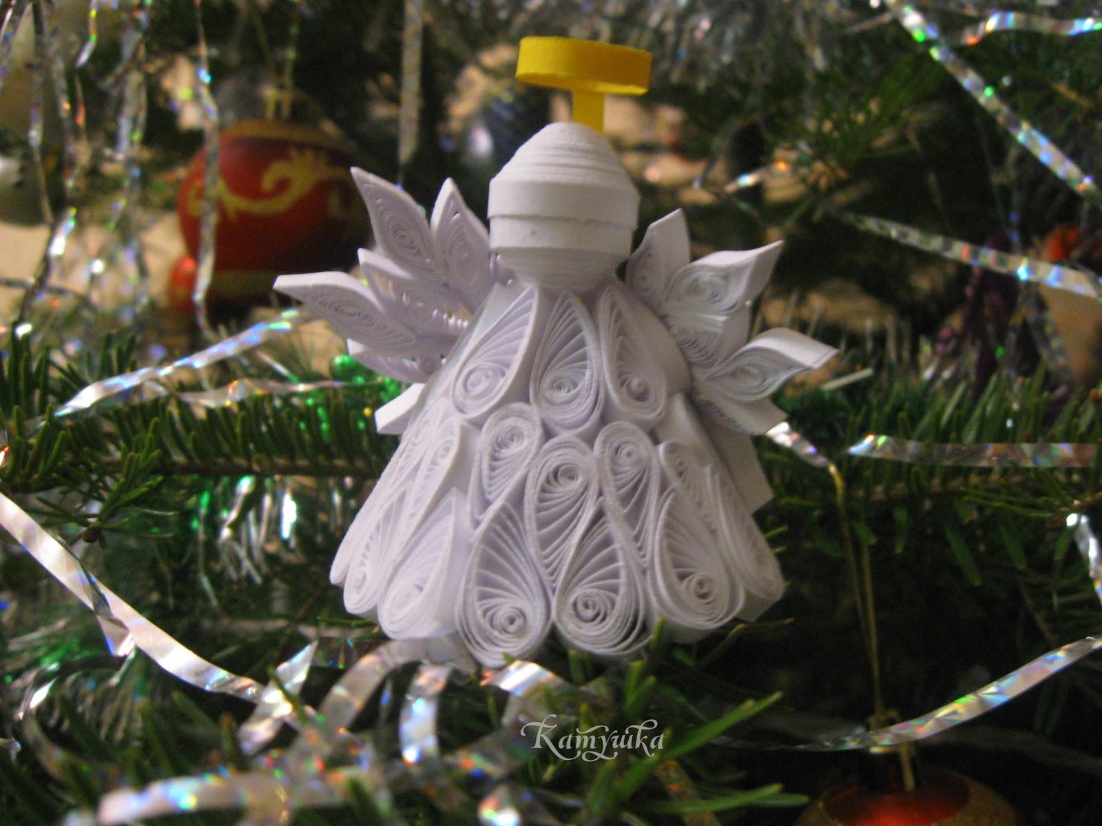 Рождественская игрушка своими руками фото