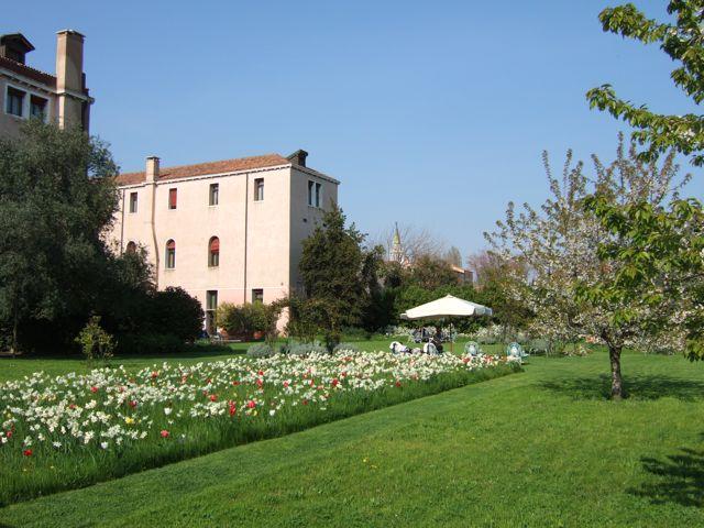 Venise c t jardin les jardins de l 39 h tel palladio bauer - Jardin a l italienne ...