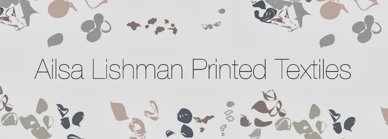 Ailsa Lishman Textiles Reflective Blog.