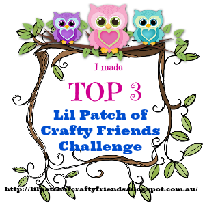 Top 3 at Lil Patch of Crafty Friends