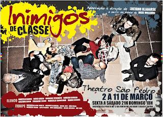 Inimigos de Classe - cartaz da peça