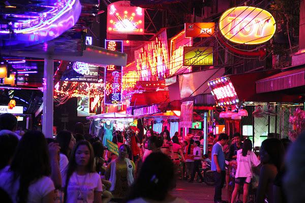 Barrio rojo de Bangkok