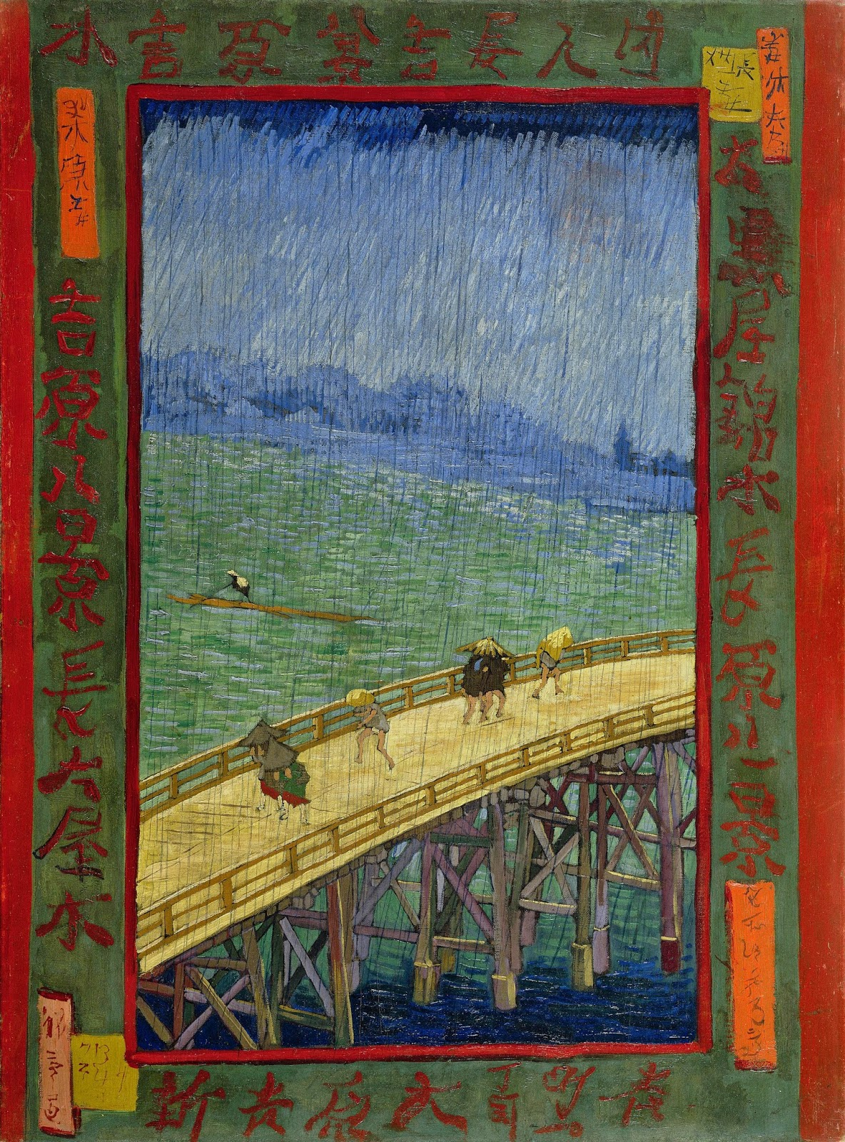 coco talks on van gogh s japonaiserie bridge in the rain after coco talks on van gogh s japonaiserie bridge in the rain after hiroshige 1887