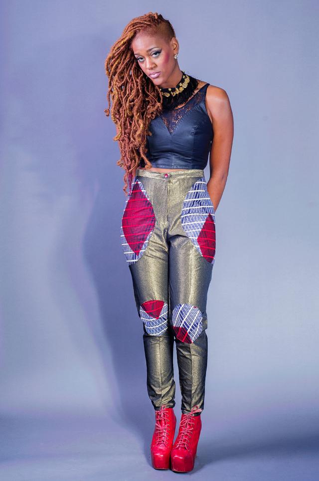 la mode africaine sur ciaafrique. Pantalon en pagne