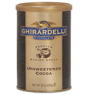 Unsweetened chocolate powder
