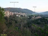 Panoràmica de Puig-reig sobre el balç del Llobregat, pressa des del carrer del Riu. Autor: Carlos Albacete