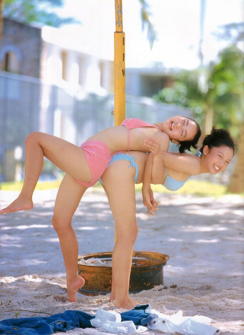 yoko mitsuya and nara saori strippng naked