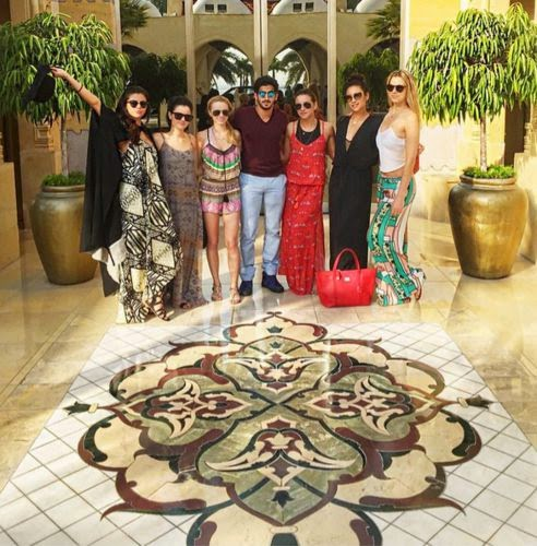 Selena Gomez and her crew it recently moved to Dubai