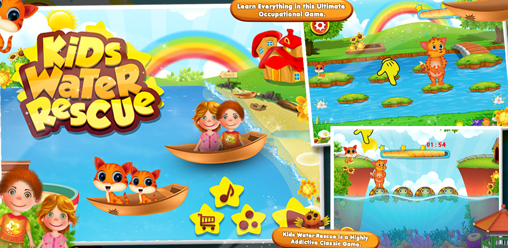 rescue game for kids