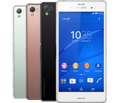 Sony Xperia Z3 HP Android Tercanggih Di Indonesia