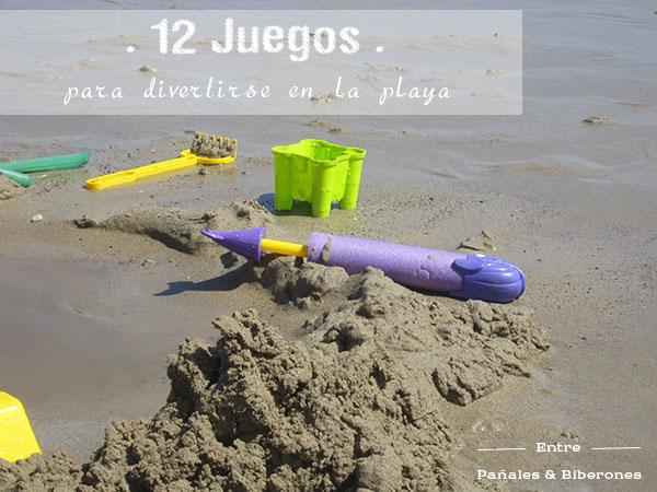 Doce juegos para que los ni os se diviertan en la playa - Juegos de recoger casas ...