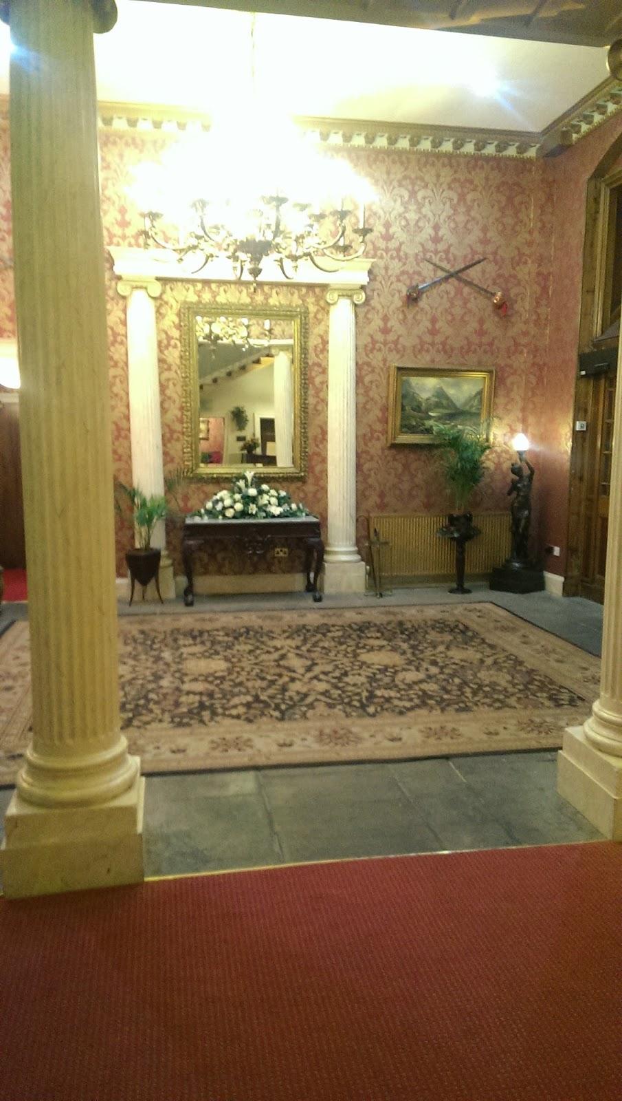 Melville Castle Hotel Lobby