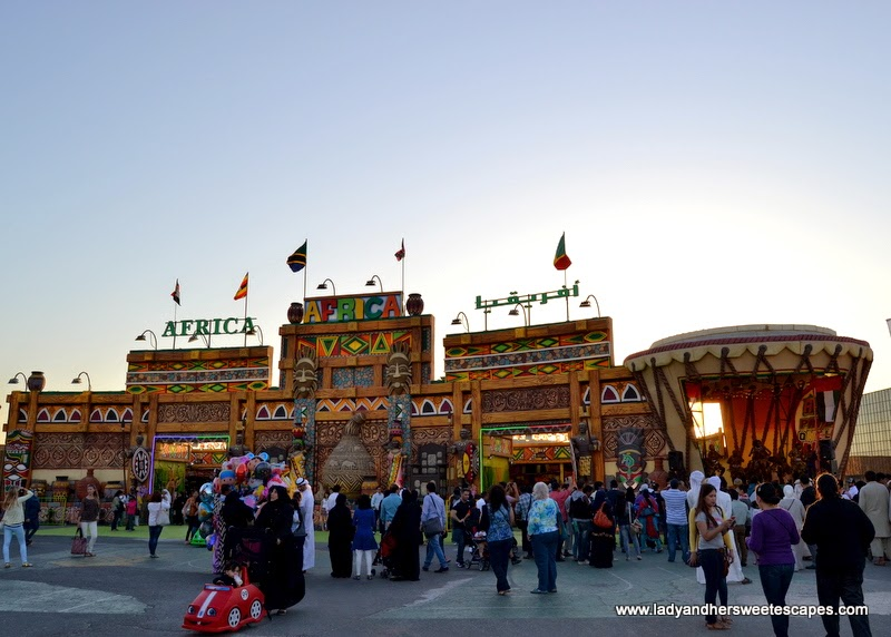 Africa Pavilion at the Global Village
