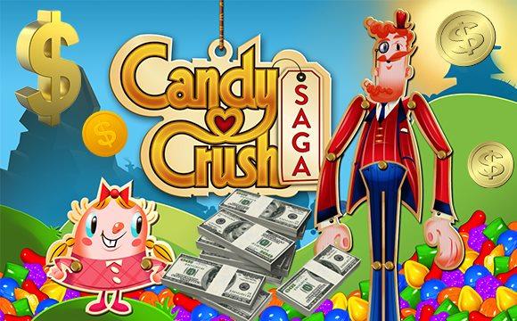 Candy Crush Saga Daily Earning