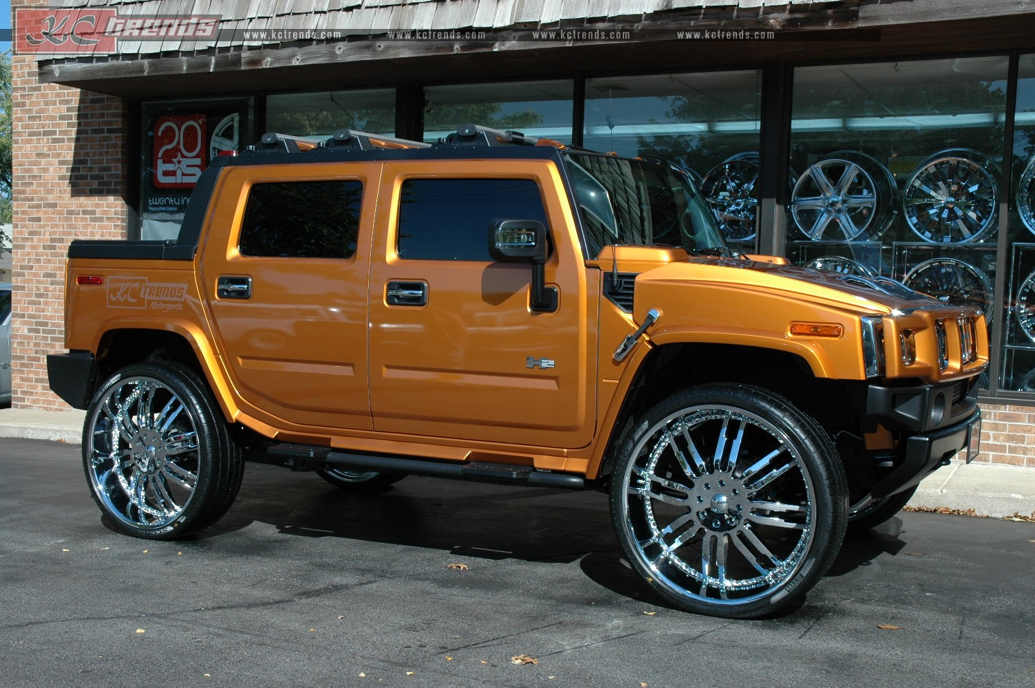 30 Inch Rims On Hummer H2 : Hummer h on inch giovanna caracass rims only the