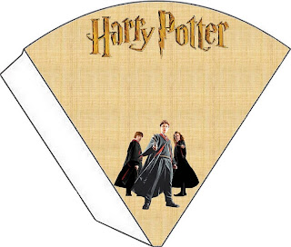 Conos para imprimir gratis de  Harry Potter.