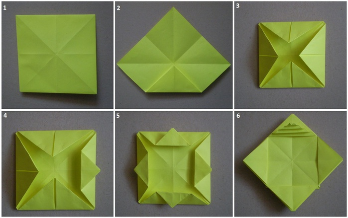 Корзинка своими руками из бумаги оригами