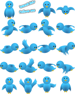 اضافة طائر تويتر