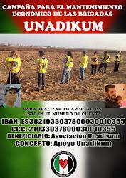 Campaña de mantenimiento económico de las Brigadas UNADIKUM
