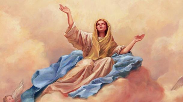 Nuevos Mensajes frases saludos por el día de Asunción de la Virgen María - 15 de Agosto
