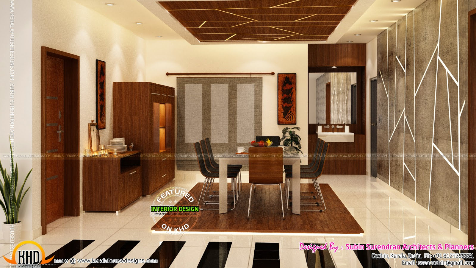 News and article online for Interior design for hall and dining room