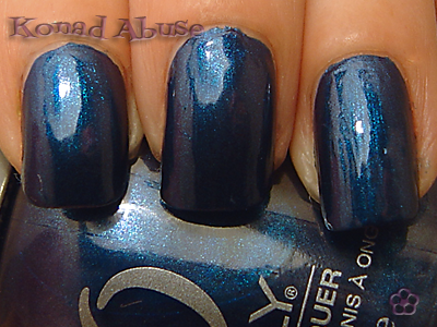 Orly Witch's Blue Swatch