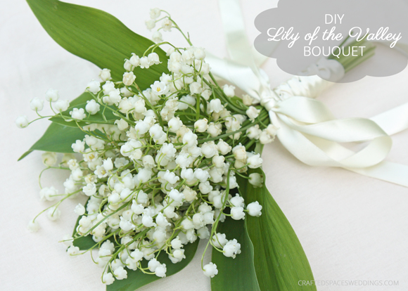 Diy Lily Of The Valley Bouquet