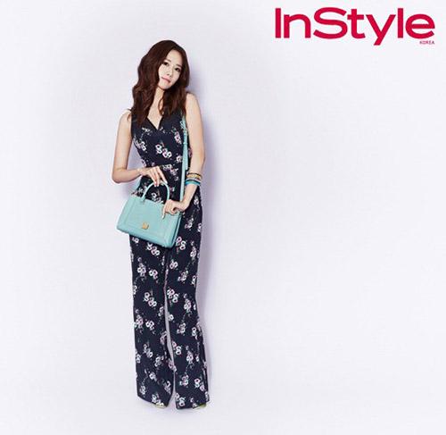 YoonA กับเบื้องหลังขึ้นปกนิตยสารแฟชั่น 'InStyle'