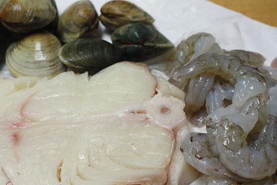 Halibut and Shellfish Soup   Skinnytaste