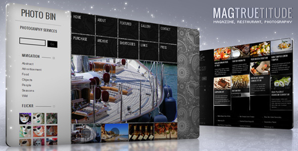 ThemeForest - MagTruetitude Restaurant and WP Food Magazine