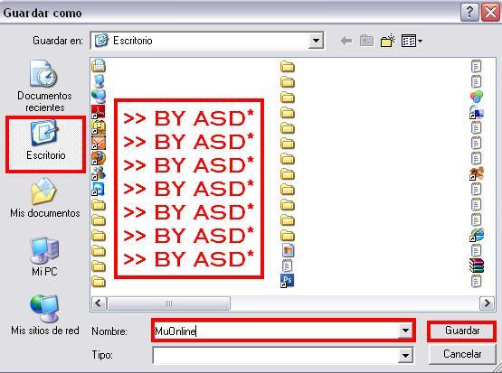Backups guardado en nuestro directorio