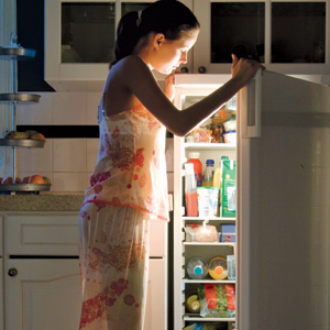 how to stop middle of the night eating