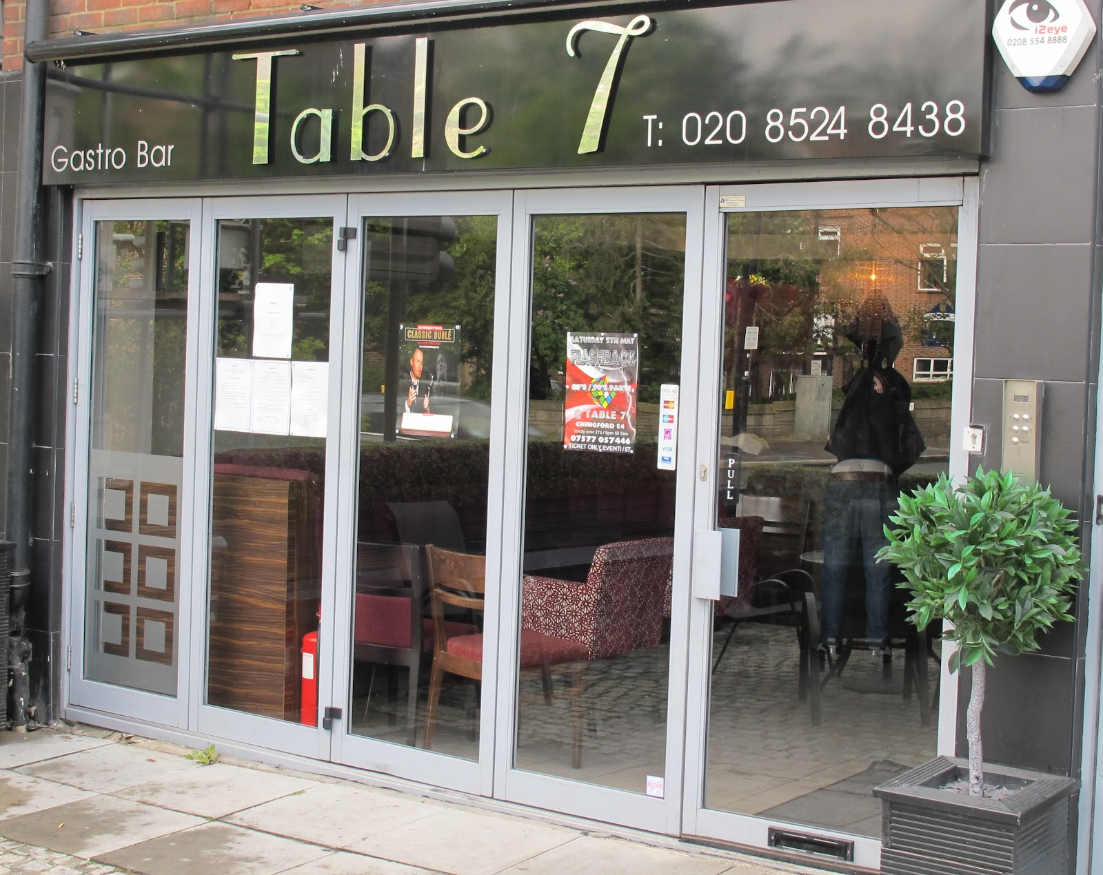 your days are numbered seven table seven