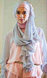 Contoh Model Baju Muslimah Casual 2016