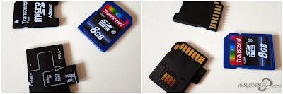 SD Karten und Adapter