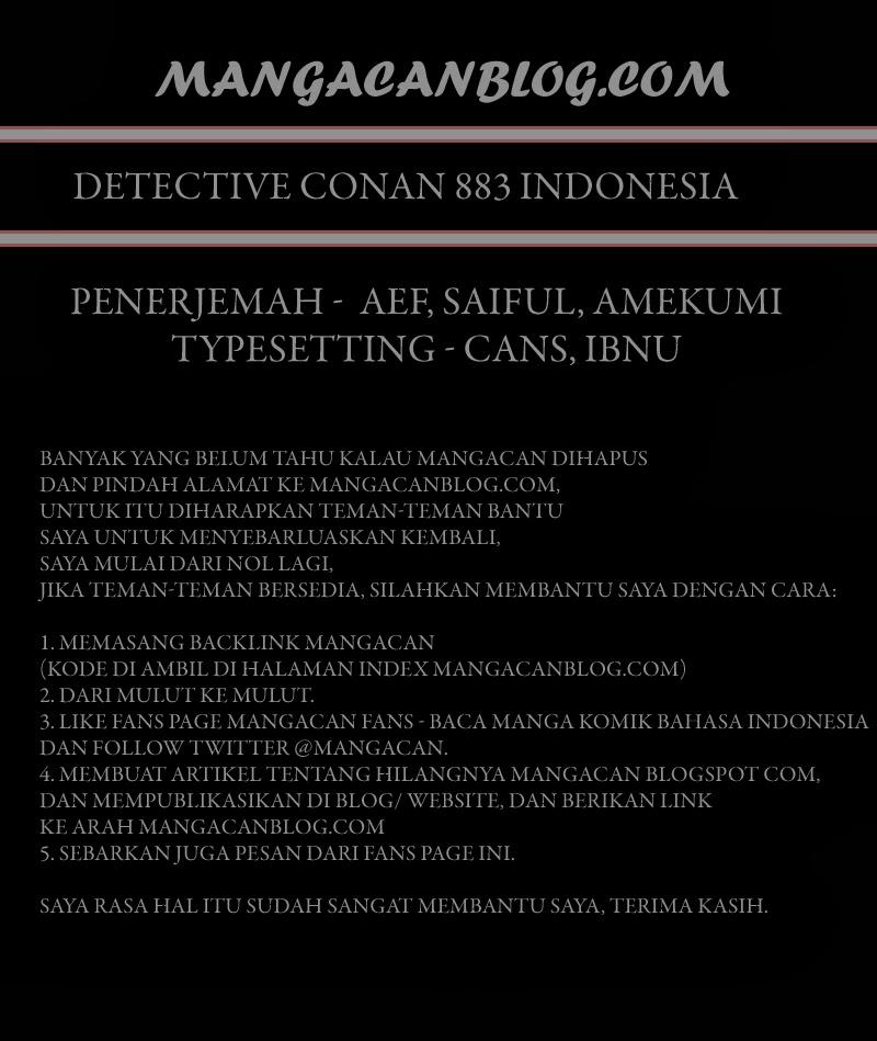 Dilarang COPAS - situs resmi www.mangacanblog.com - Komik detective conan 883 - detektif merah 884 Indonesia detective conan 883 - detektif merah Terbaru |Baca Manga Komik Indonesia|Mangacan