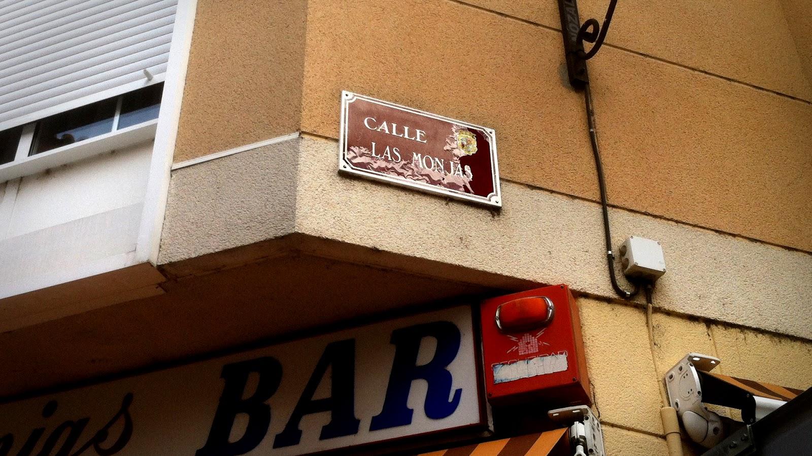 Calle Las Monjas, 2014 Abbé Nozal